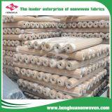 Tissu non-tissé de 100% pp Spunbond dans divers largeurs/poids/couleurs
