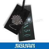 Plegable la etiqueta de la caída de la ropa de la impresión de la cartulina 4c de Kraft