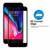le bord incurvé par 3D a complètement couvert le protecteur d'écran en verre Tempered pour l'iPhone 8/8 positif