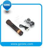Altavoz de la batería de la potencia de Bluetooth de la antorcha de la fábrica LED de la promoción