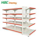Maschendraht-Rückplatten-Supermarkt-Regal-Bildschirmanzeige-Zahnstange für Verkauf