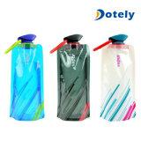 Гибкие складные складные многоразовые напольные бутылки воды 700ml