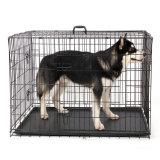 Caisses chaudes de cage de fil de crabot d'approvisionnement de produit d'animal familier de vente d'Amazone Ebay