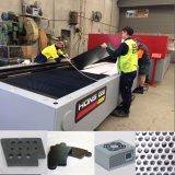 Автомат для резки лазера волокна металла стали углерода с рабочей зоной 4000*2000mm