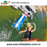 Grosser bunter See-aufblasbarer Katapult-Klecks, aufblasbare Wasser-Klecks-Karosserien-Abschussrampen-aufblasbares Wasser-Felsen-Klettern