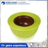 Kundenspezifische Firmenzeichen-einfarbige Melamin-Locher-Suppe-Filterglocke