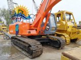 máquinas de construção utilizados Coveiro Hidráulico Hitachi Ex200 escavadora de rastos