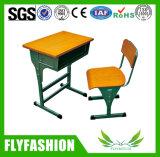 Escuela Moderna de entrenamiento de madera muebles escritorio ergonómico para el estudiante (TA-24)