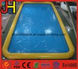 Piscina plástica inflable de los tubos dobles para la venta