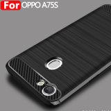 Casse mobili della fibra del carbonio di TPU per Oppo A75s /A79