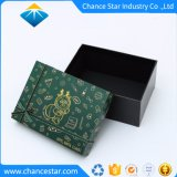 El logotipo de la lámina personalizada cartón papel relieve Perfume Caja de regalo