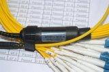MTP-LC 24coresのエリートの挿入損失のパッチ・コード