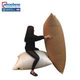 Le papier le bois de fardage avec Fast Air Bag gonfler la soupape
