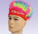 Parrucca della tazza di mondo della parrucca dei ventilatori delle novità di calcio