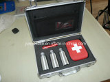 Алюминиевый ящик для инструментов со штампом, губки из пеноматериала