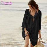 O desgaste das mulheres última moda praia biquini blusas soltas de algodão