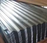 Material para techos de aluminio del metal de Gl de la azotea de la hoja de agua del cinc acanalado de la onda