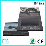 L'impression personnalisée 10,1 pouces LCD Vidéo Brochure