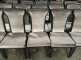 Cadeira luxuosa da sala de jantar do metal da mobília por atacado do hotel (JY-F51)