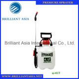 pulvérisateur de pression manuelle de jardin de PE de pulvérisateur du jardin 6liter dans le canon de lavage de pulvérisateur de véhicule bon marché de la Chine