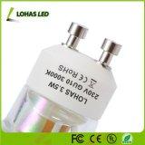 110-240V GU10 MR16 AC/DC 12V 3,5 W Refletor LED de vidro
