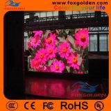 As vendas quentes HD Waterproof o indicador de diodo emissor de luz ao ar livre da cor P10 cheia
