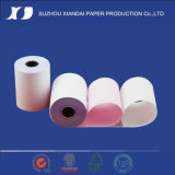 2-Ply NCR Rollo de papel de 76mm X 76mm