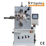 YFSpring Coilers C435 - оси диаметр провода 1,20 - 3,50 мм - пружины сжатия машины