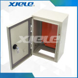 Casella di distribuzione grigia Ral7035 per il montaggio dell'interno ed esterno IP66 della parete