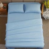 Het nieuwe Blad van het Bed van het Ontwerp plaatst het Witte Katoenen Blad van het Bed