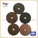 3 Lavagem a almofada de polir Diamantes por pedras e concreto