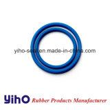 OEM Oring de sellado de caucho de silicona azul y la junta tórica