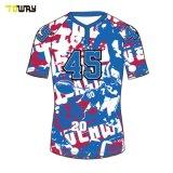 Spandex Figi Sublimazione Del Colore Maglie Da Rugby Personalizzate
