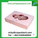 Custom напечатано Изысканный подарок бумаги ручной работы кондитерских окно для конфеты и шоколад / торт