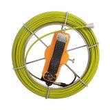 Mini tubo Cam/Empurrar os sistemas de inspecção do pipeline da câmara