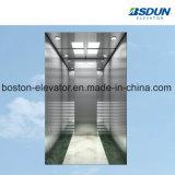 450 кг элеватора пассажира из нержавеющей стали для установки внутри помещений