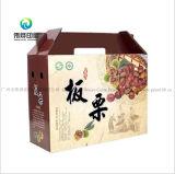 Цветной печати из гофрированного картона (подвес) упаковочной коробке для хранения