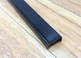 Formato su ordinazione materiale caldo dell'acciaio inossidabile di vendita della Cina con il testo fisso nero del metallo di colore dell'oro