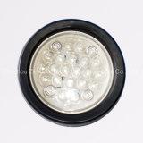 """高品質4の"""" Roundの24ダイオードLED Back-up Light"""