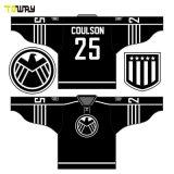 La práctica del equipo de Hockey baratos camisetas con los números