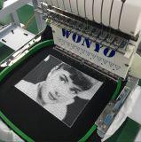 新しい条件の単一帽子のTシャツの終了する衣服の靴のソックスの布の刺繍のためのヘッドによってコンピュータ化される帽子の刺繍機械