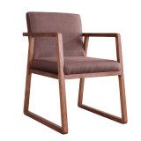Casa moderna de ocio de muebles de comedor de madera Silla para conjuntos de mobiliario de restaurante