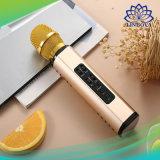 Condensador de micrófono inalámbrico altavoz Bluetooth Karaoke