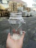 豪華な形400ml 450mlはガラス飲むメーソンジャーを取り除く