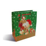 크리스마스 (YH-PGB034)를 위한 크리스마스 종이 봉지 선물 부대