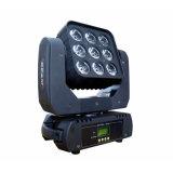 Nuovo indicatore luminoso capo mobile del raggio luminoso della tabella di 9*10W 4in1 RGBW LED