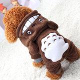 Vorm Mijn Lagen van het Huisdier van de Kleren van de Hond van de Winter van Hoodies van het Huisdier van Totoro van de Buur Warme