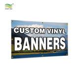 Impressão frente e verso Banner cartazes em PVC vinil de malha
