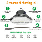Dosel Explosion-Proof 200watt 100 vatios de luz LED de alta de la luz de la Bahía de OVNI