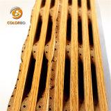 Controllo del rumore efficientemente facile installare il comitato di legno di acustica del legname